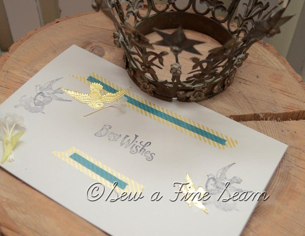Sew A Fine Seam: Wedding Sneak Peek