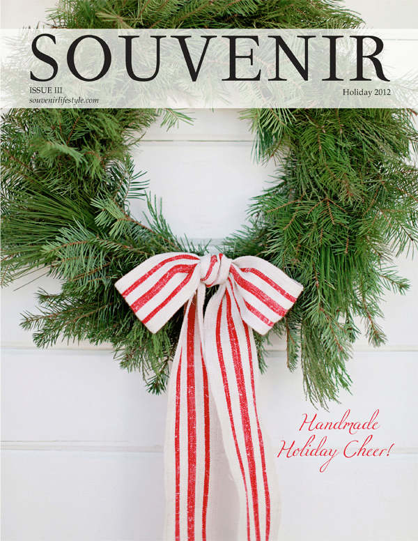 Souvenir Magazine Christmas 2012