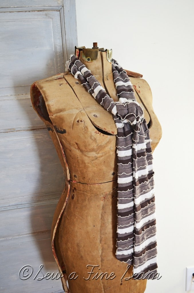 brown scarf 3