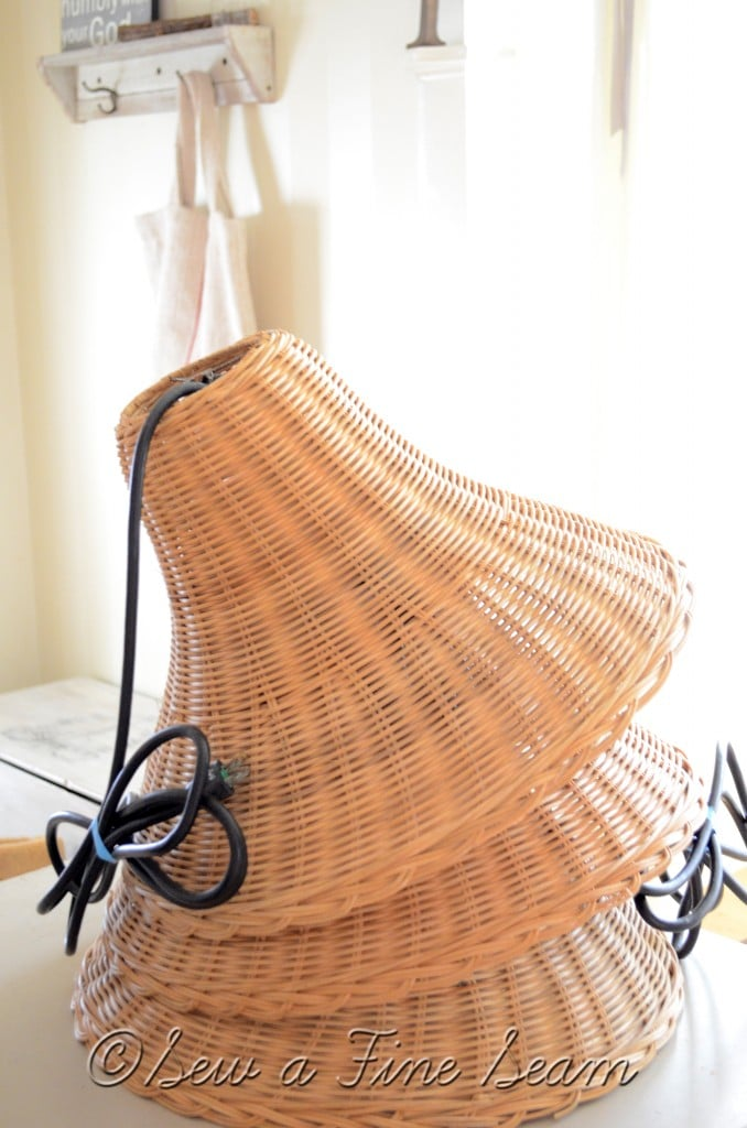 basket pendant lights