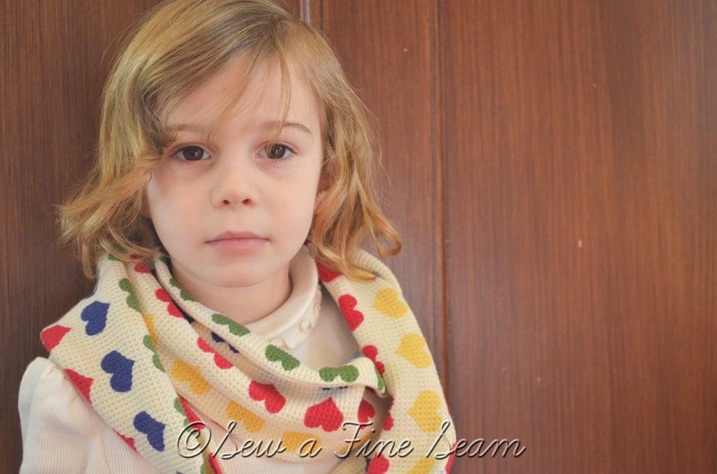 heart scarf 13