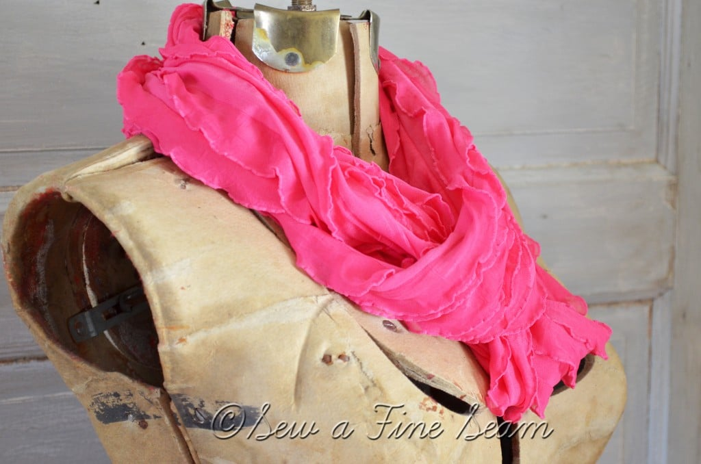 pink scarf 3