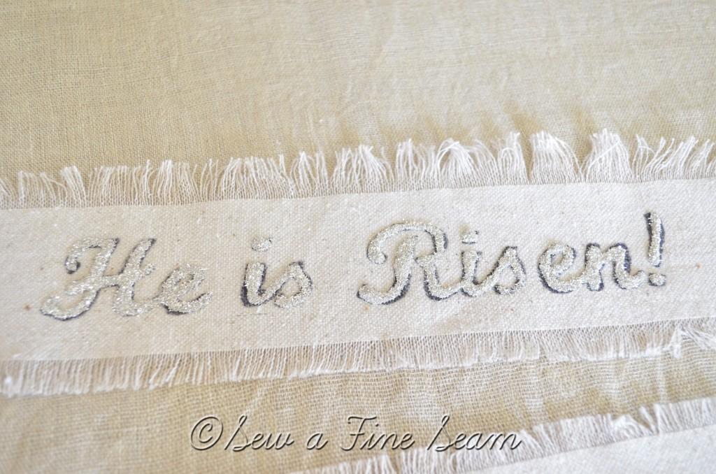 he is risen banner 2
