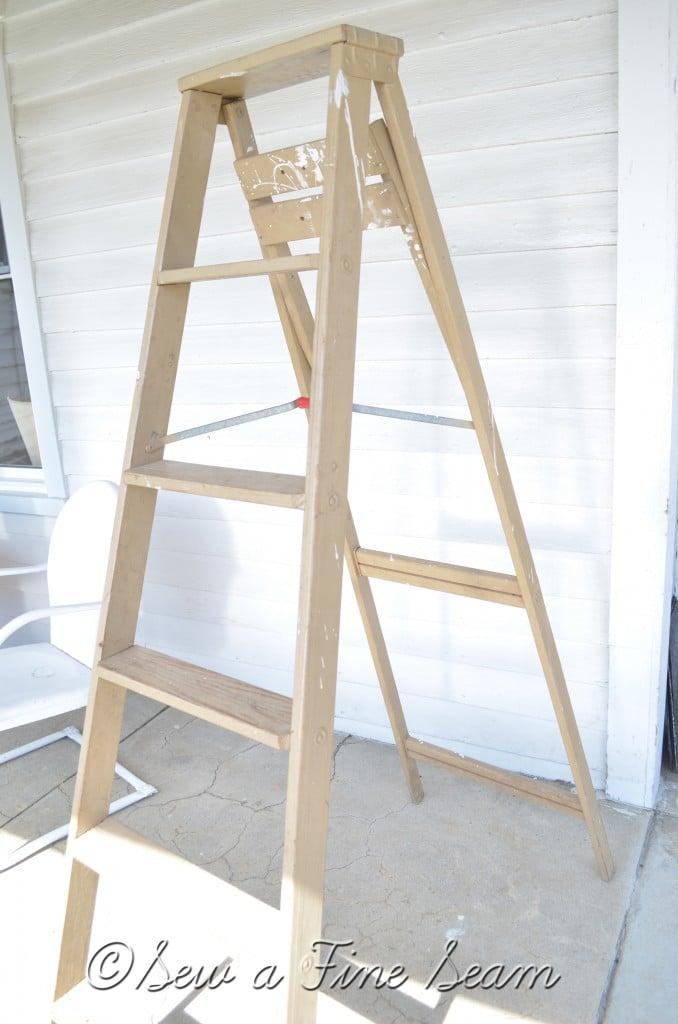 white ladder 3