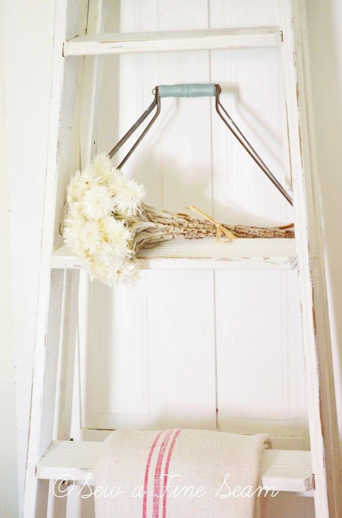 white ladder 5