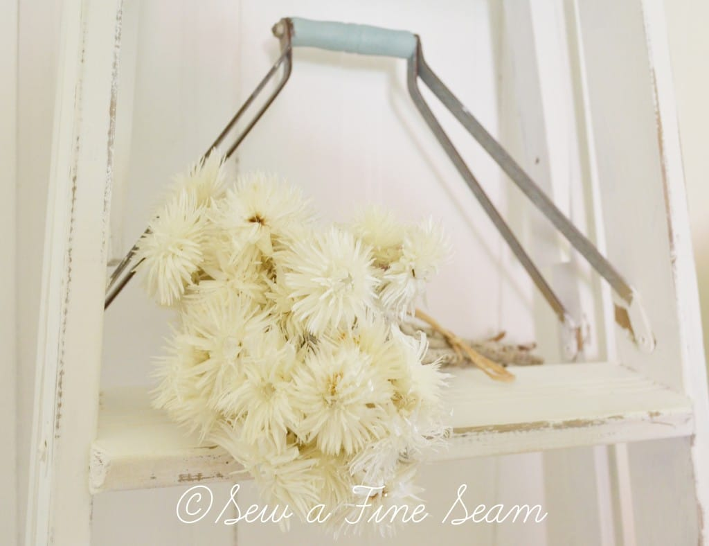 white ladder 7