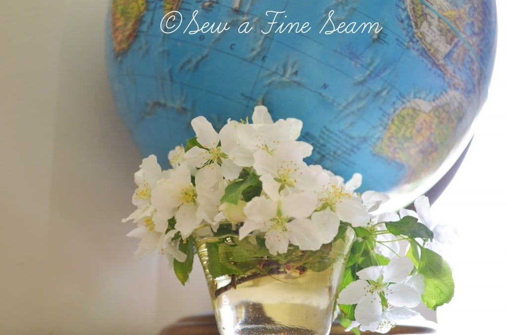 globe and flowers 6
