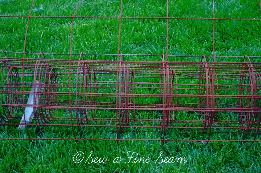 rusty fence project 10