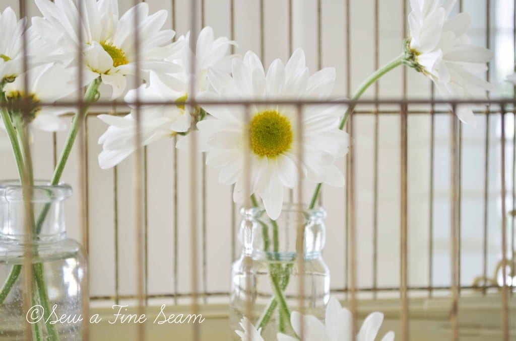 bird cage with daisys 3