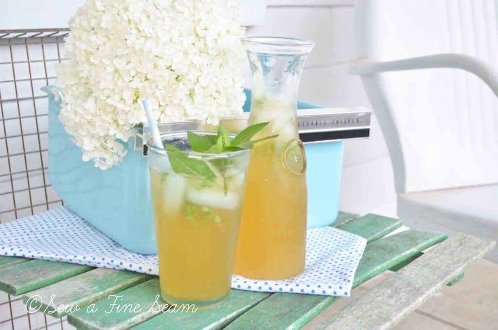 basil tea 10