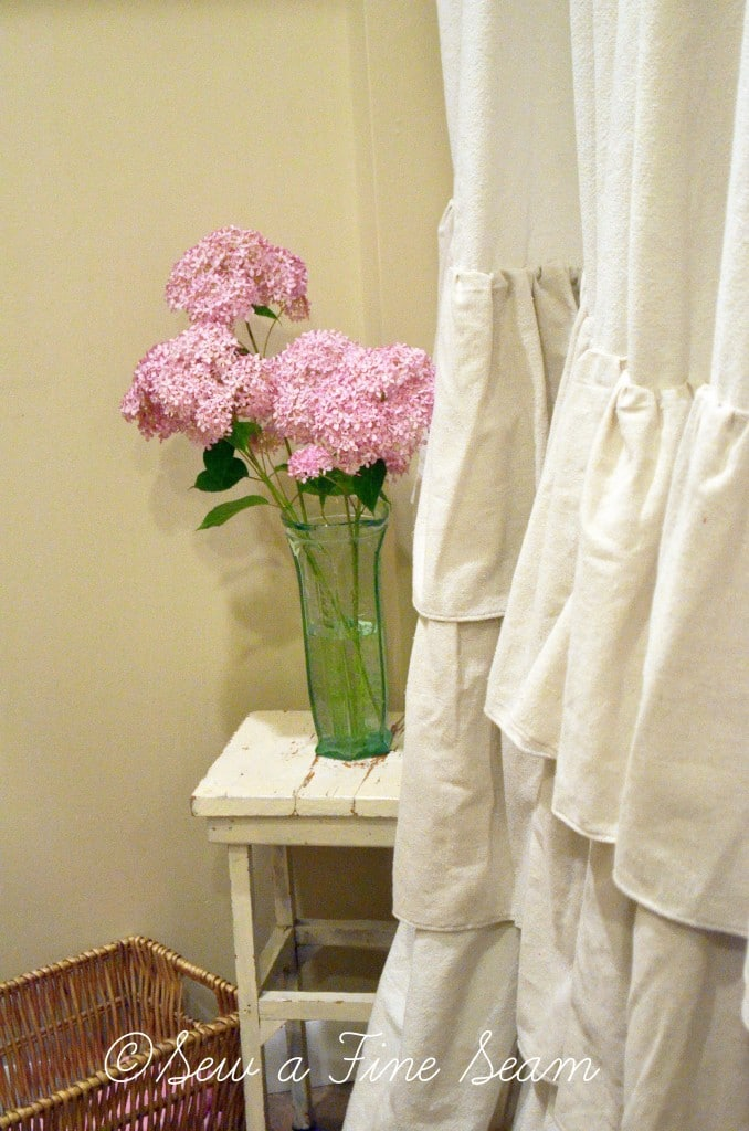 ruffled shower curtain 5