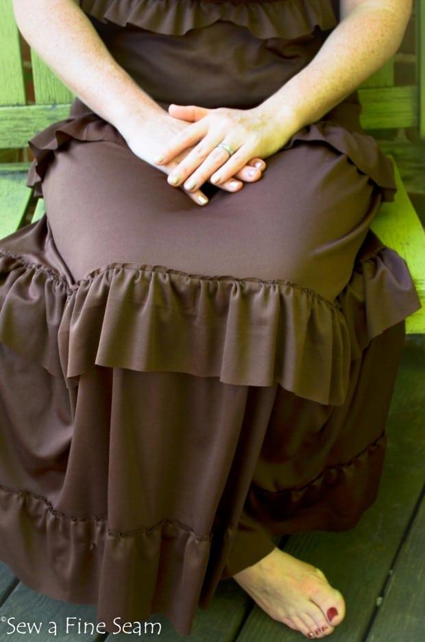 Ruffled Dress 6