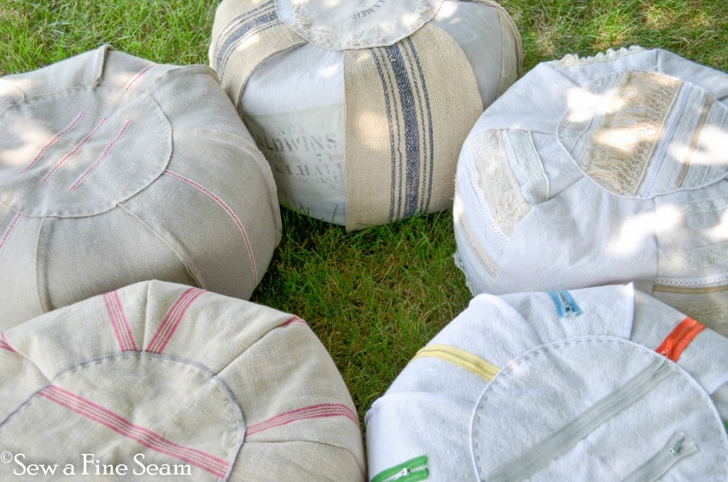 how to make a pouf