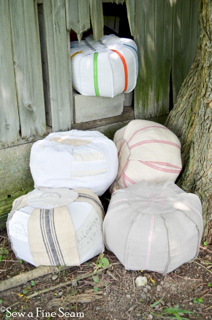 how to make a pouffe!