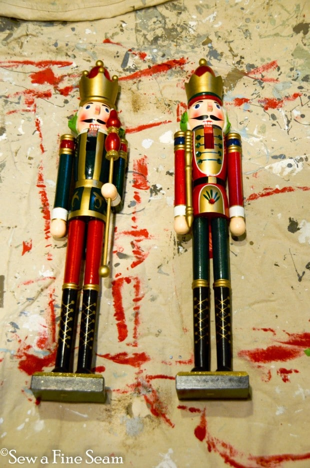 german glass glittered nutcracker-1