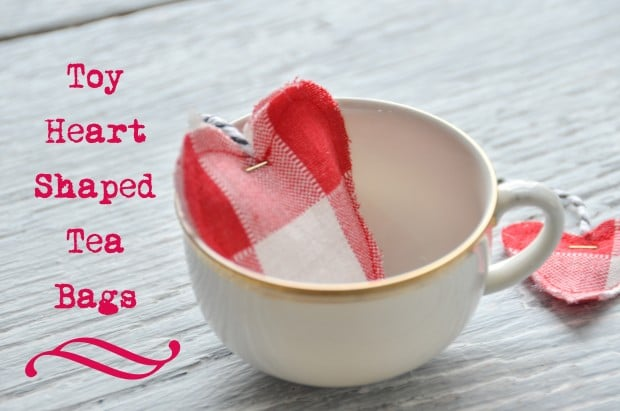 heart shaped tea bags - how to
