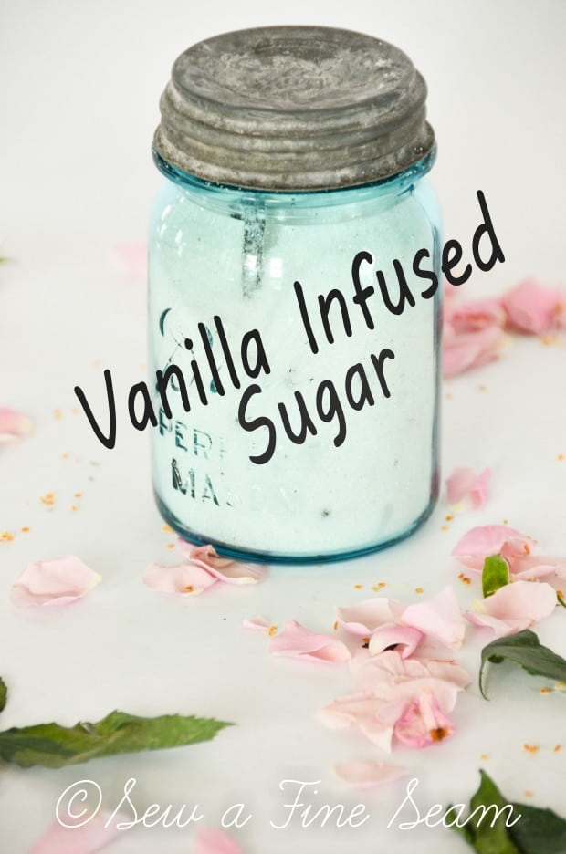 vanilla infused sugar - how to