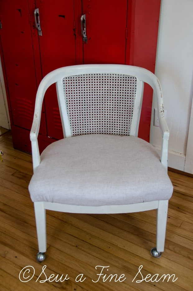 milk painted desk chair-7