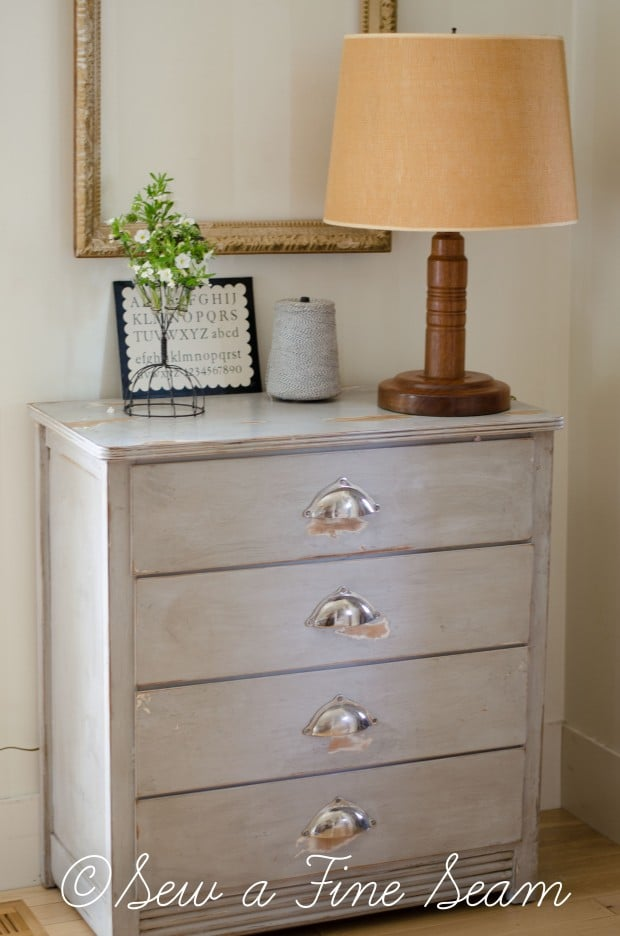 grey buffet dresser (3 of 5)