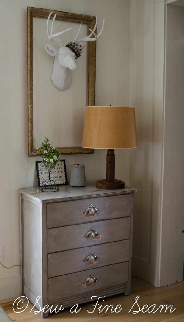 grey buffet dresser (4 of 5)