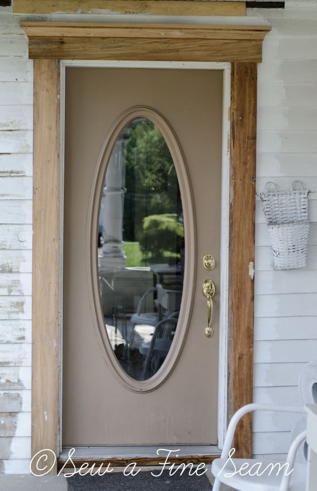 adding trim to an exterior door (11 of 18)