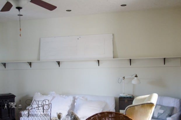 decorating a 12 ft shelf (3 of 11)