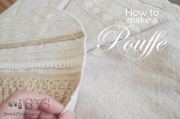 how to make a pouffe