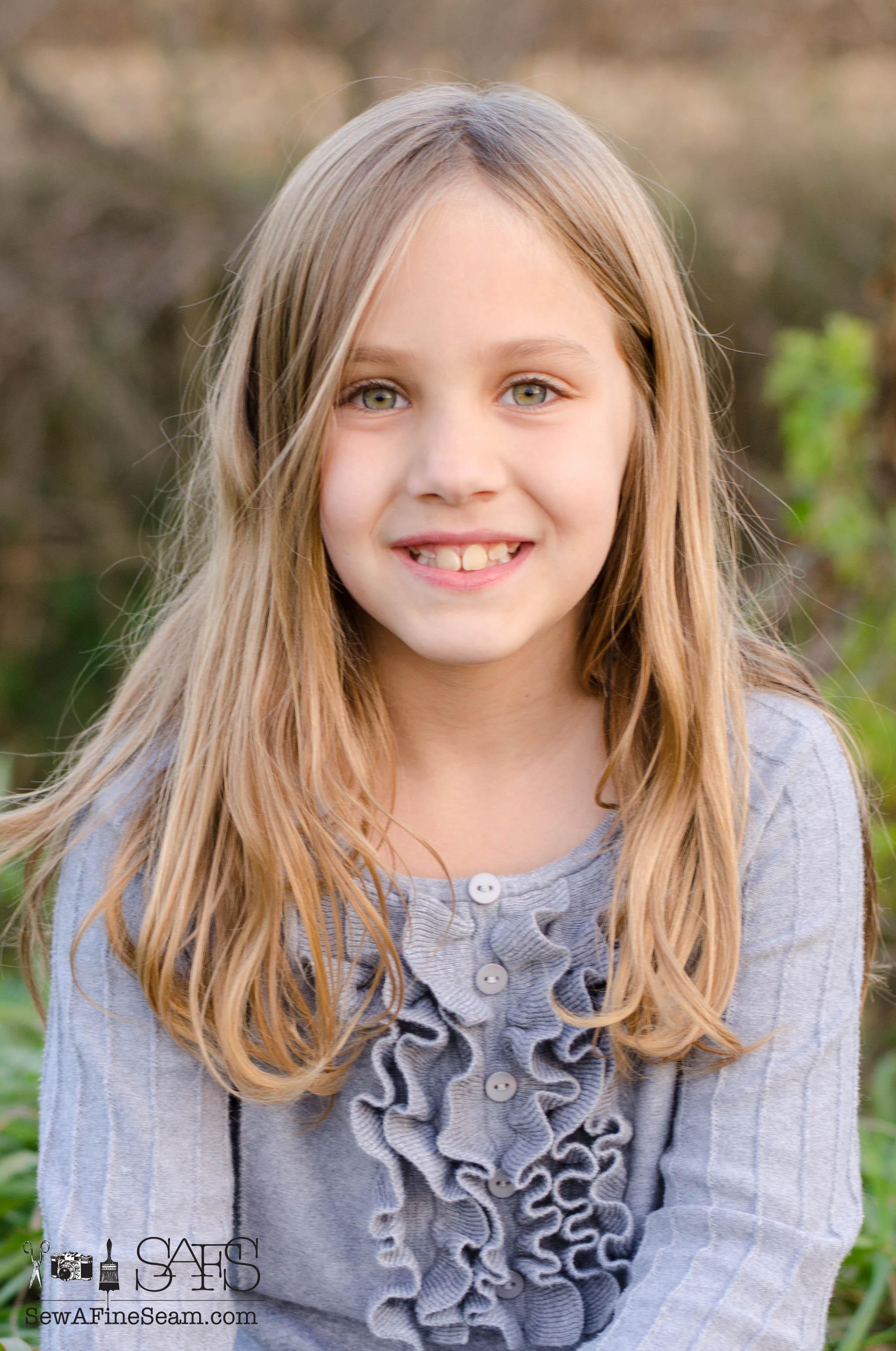 9 Years Old Girl Коллекция иллюстраций