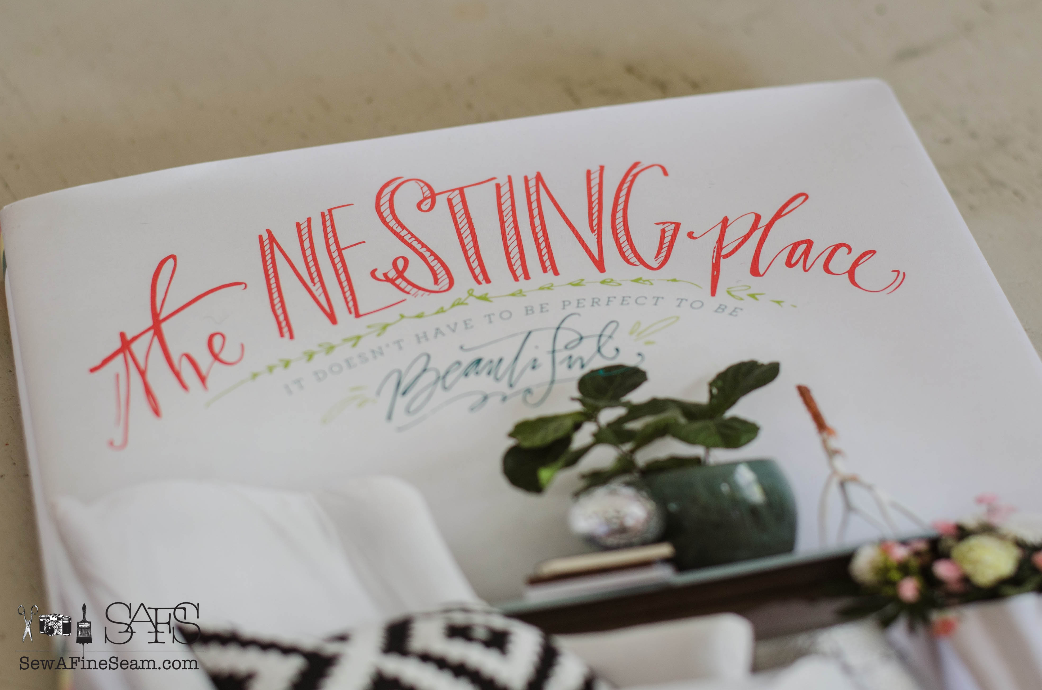 The Nesting Place and Nate Berkus   Sew a Fine Seam