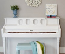 piano painted