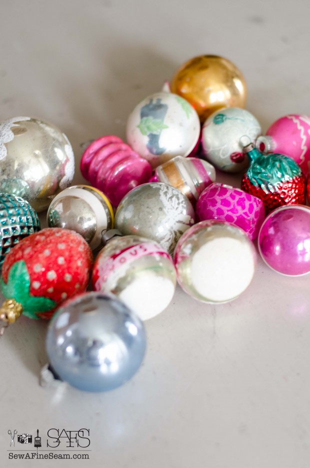 Vintage Ornaments and Earrings (2 of 8)