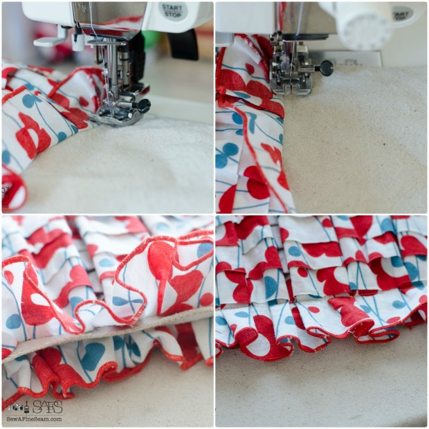 thrifted skirt turned handbag