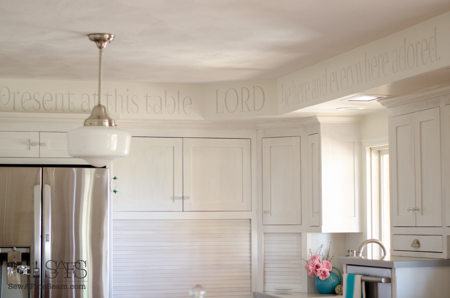 custom kitchen cabinets painted with milk paint