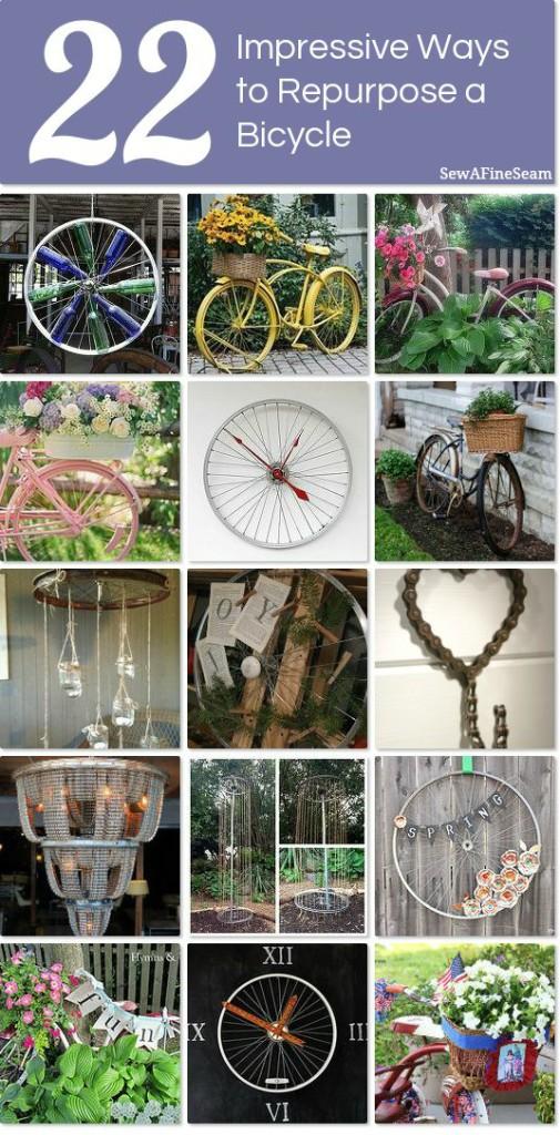 impressive bicycle upcycle