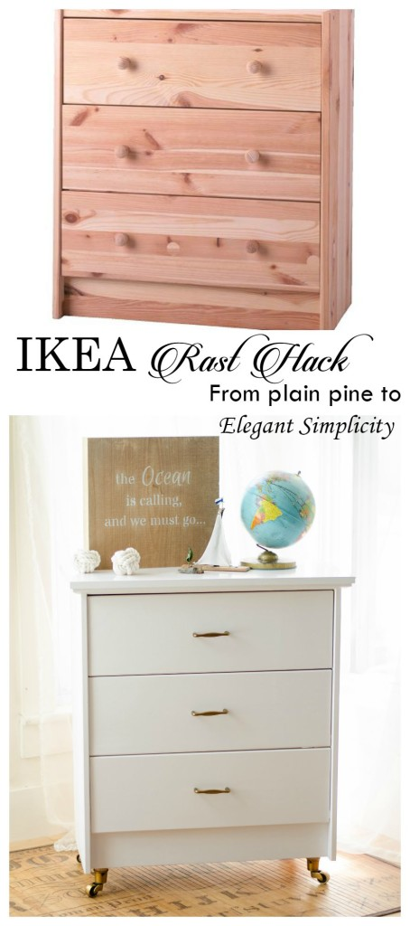 ikea rast hack before and after