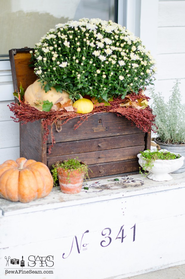 Fall home tour decor 2015