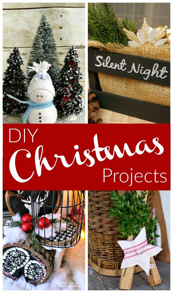 christmas diy collage