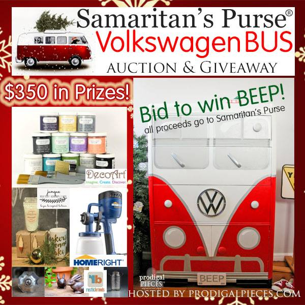 vw bus dresser makeover sponsor and giveaway