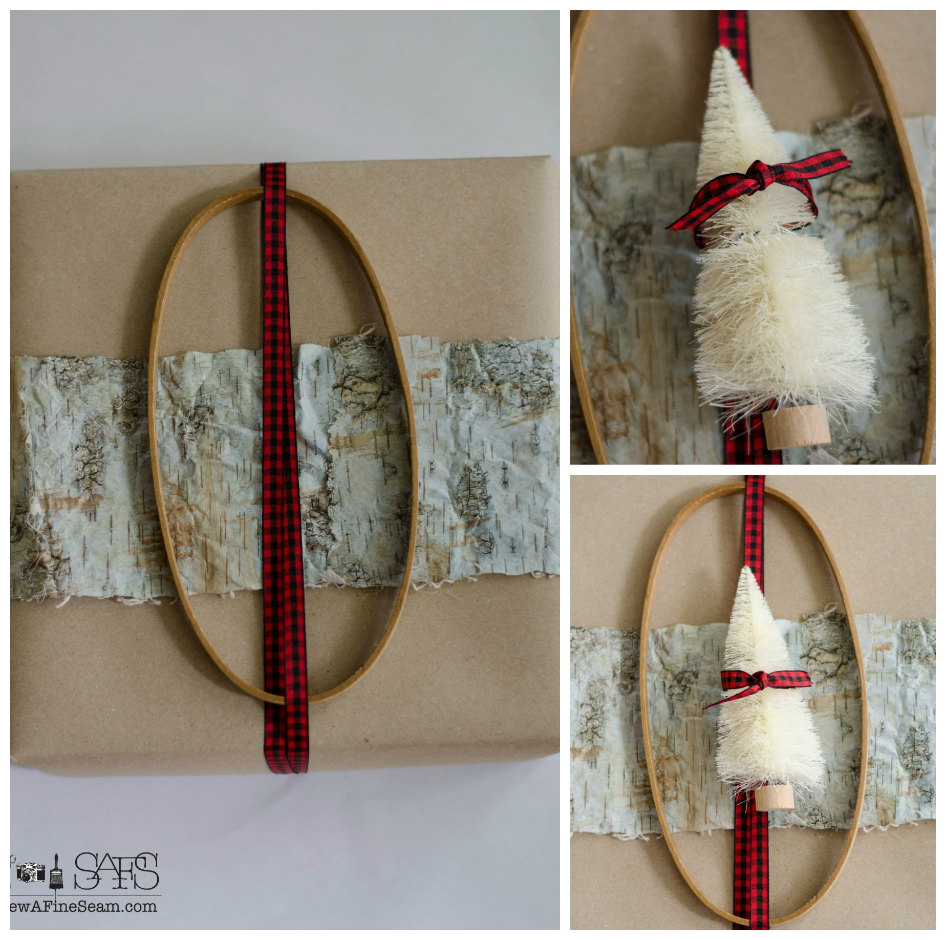 Wrapping Gifts Using Fun Elements