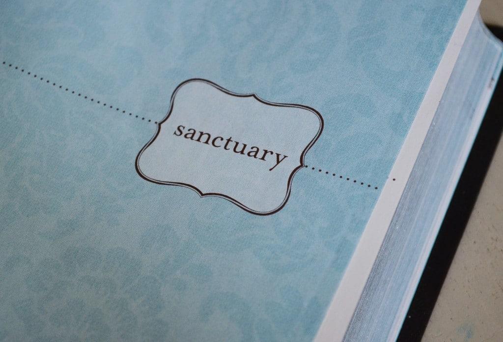 new living translation bible sanctuary