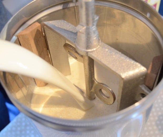 ice cream milk