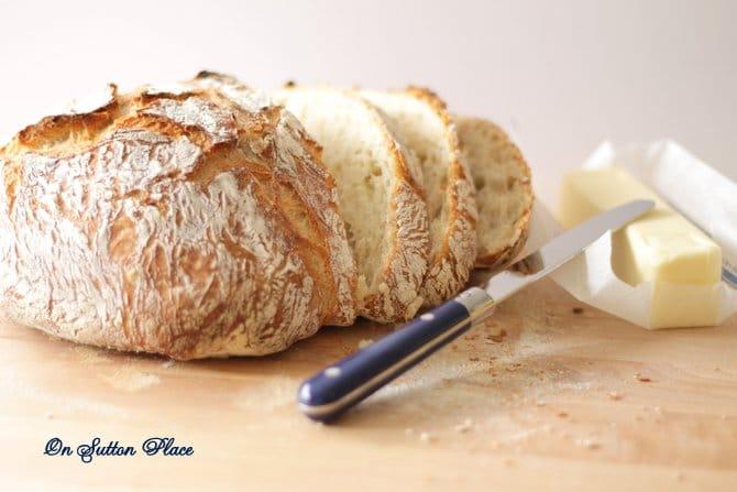 4 Ingredient Round Bread