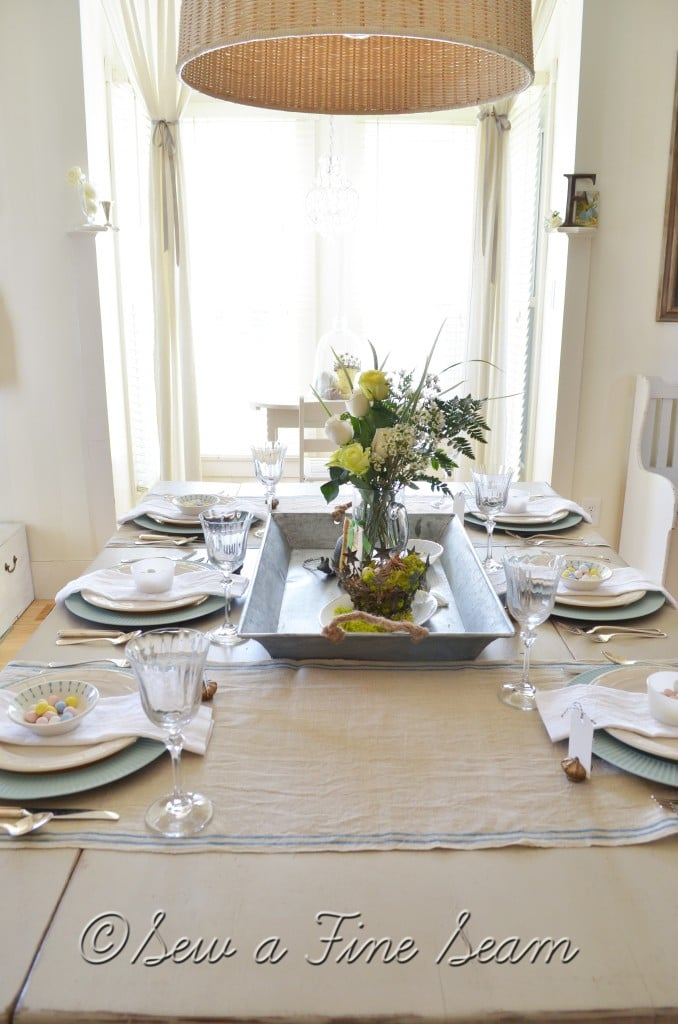 spring tablescape 2013