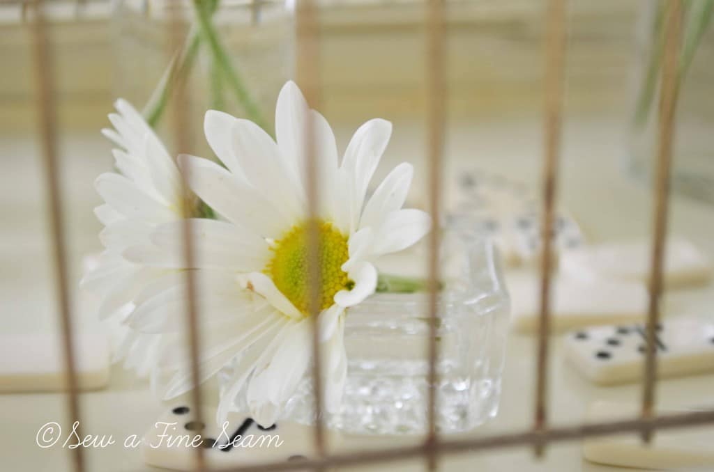 bird cage with daisys 11