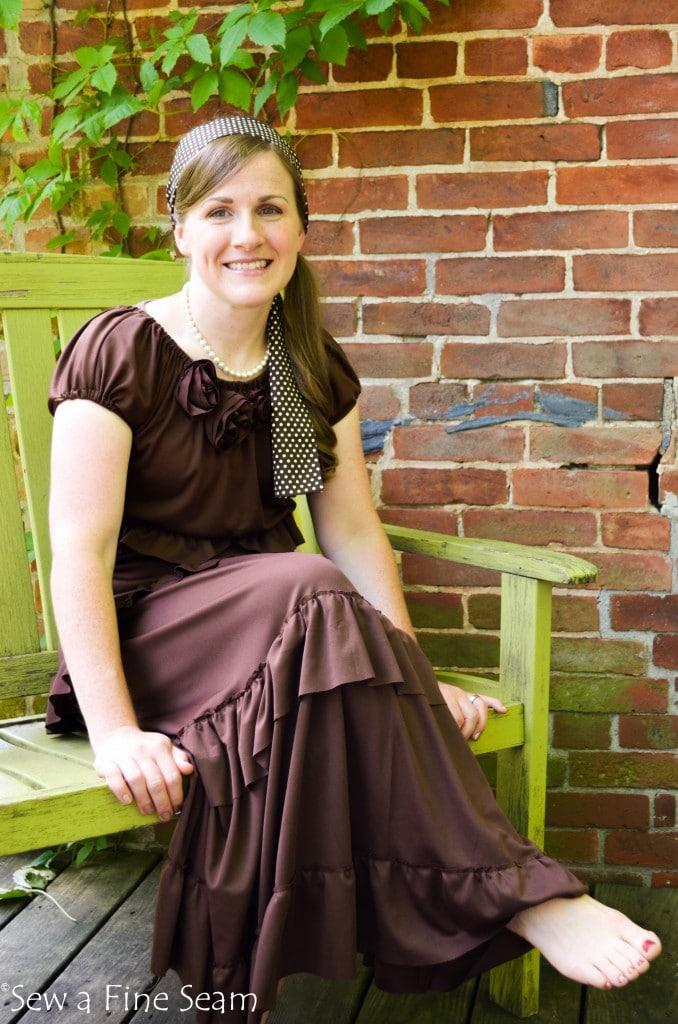 Ruffled Dress  (1 of 1)