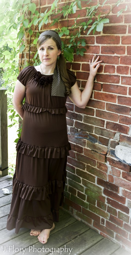 Ruffled Dress 10