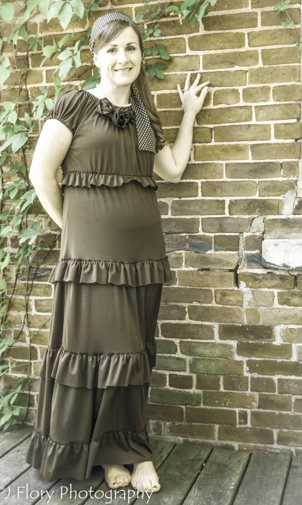 Ruffled Dress 8