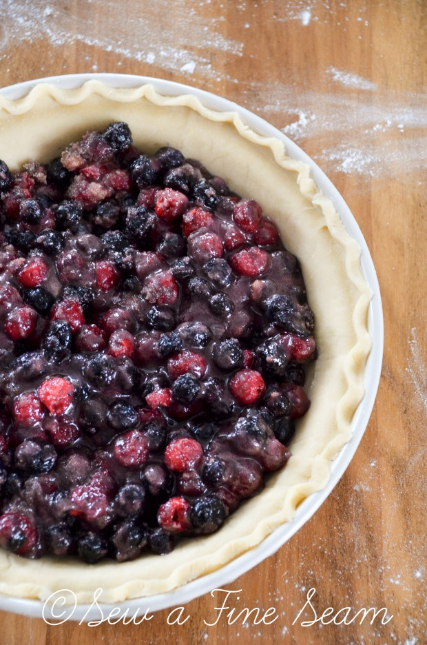 cherry-blueberry pie-5