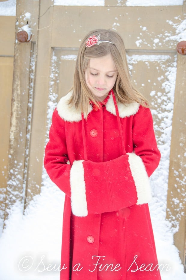 red coat in the snow-21