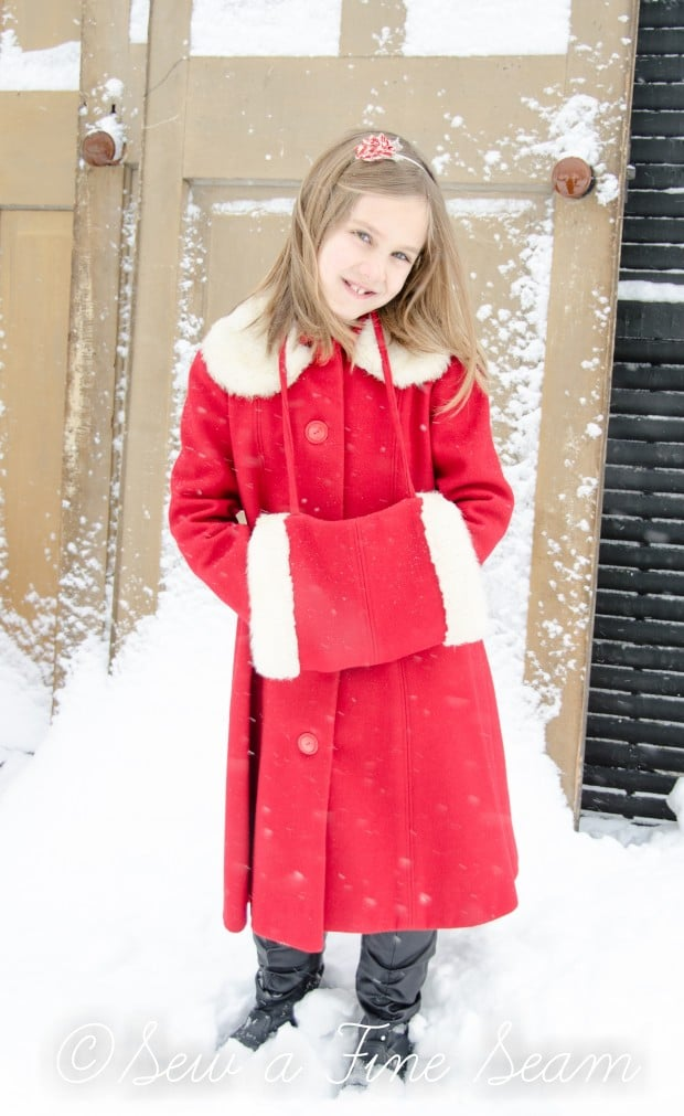 red coat in the snow-22